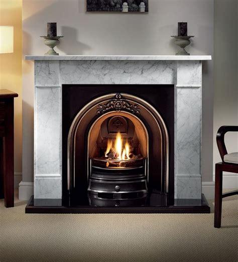 brompton cararra marble fireplace package  landsdowne