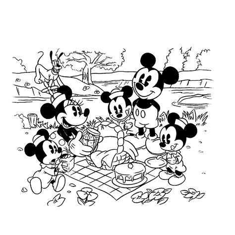 Kleurplaat Mickey Mouse Zomer by Duckstad Kleurplaten Kleurplatenpagina Nl Boordevol