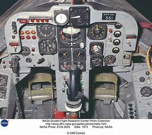 X-24 ECN-3659: X-24B Cockpit