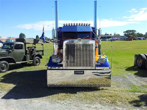 Optimus Prime At The Heritage Truck Show At Rocklea