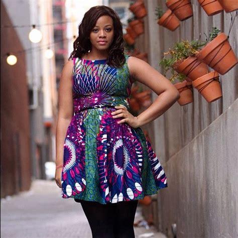 Modern Kitenge Dresses-18 New African Kitenge Designs 2018