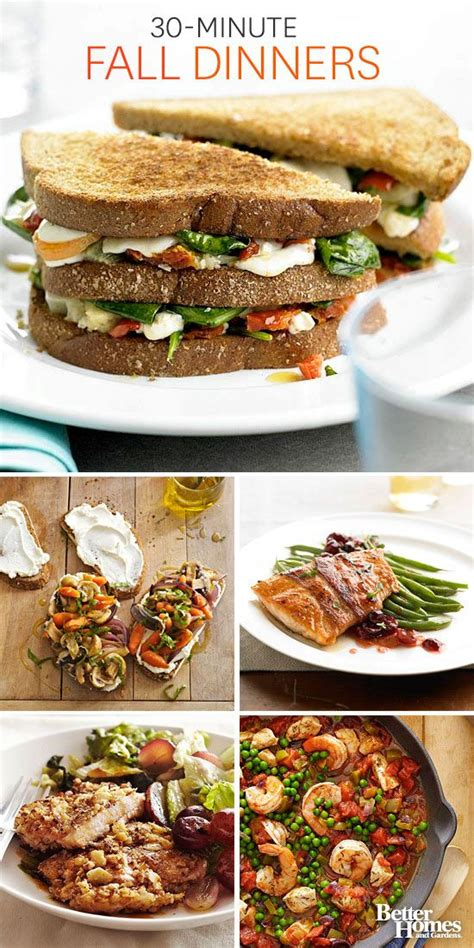 30 minutes meals or less easy 30 minute meals