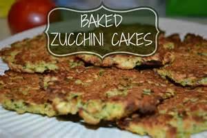 Baked Zucchini Cakes Recipes