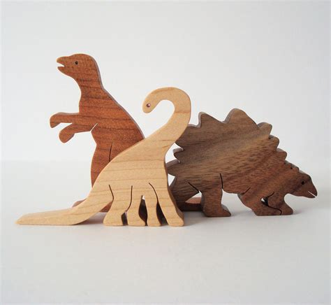 dinosaur wood toys wooden dinosaur toys waldorf wood