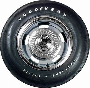 1930 2007 all makes all models parts gyf7014 f70 14 With goodyear white letter tires