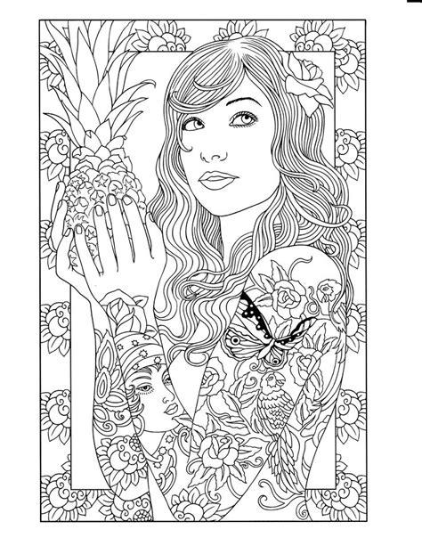 Body Art: Tattoo Designs (Dover Design Coloring Books