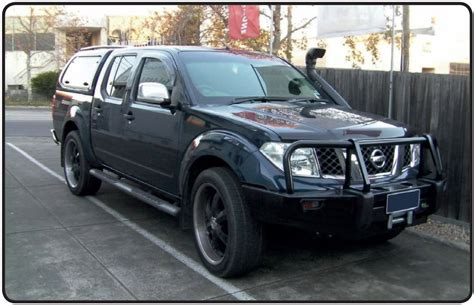 Nissan Navara Picture by 2005 Nissan Navara D40 Pictures Information And Specs