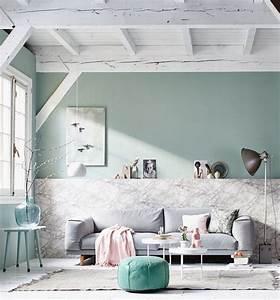 Salon Vert D Eau : plus de 70 exemples d co pour adopter l ind modable vert ~ Zukunftsfamilie.com Idées de Décoration