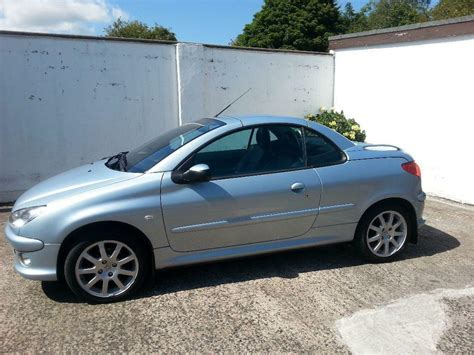 Peugeot 206 For Sale by 2006 Peugeot 206 Convertible For Sale Quot 12 Months Mot
