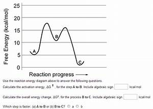 Use The Reaction Energy Diagram Above To Answer