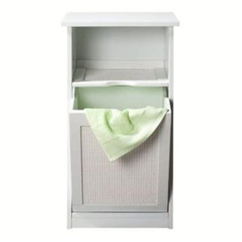organisation armoire salle de bain avec bac a linge integre