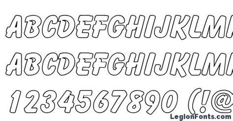 cartoon hollow font   legionfonts