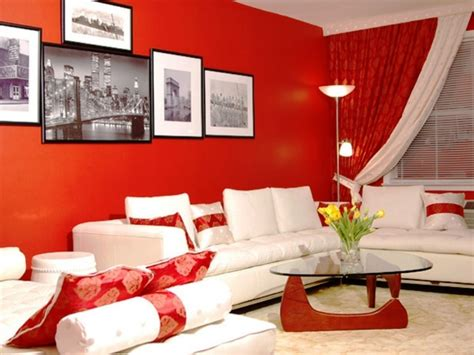 Home Decor On 45 : 45 Home Interior Design With Red Decorating Inspiration