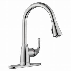 Glacier Bay Pull Down Kitchen Faucet Installation