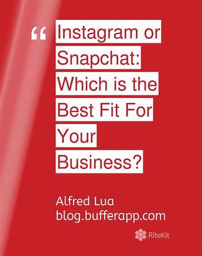 決定 意思 Snapchat Instagram