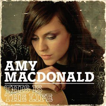 Cd Jaquette Amy Macdonald  This Is The Life