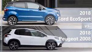 2018 Ford Ecosport Vs 2018 Peugeot 2008  Technical