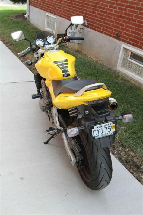honda sports bikes 600cc 2004 honda 599 cb600f4 hornet yellow for sale on 2040 motos