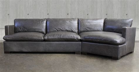 Leather Sectionals Charming Home Design