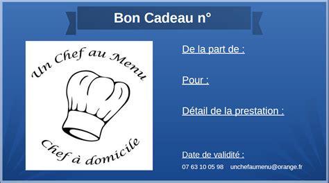 carte cadeau cours de cuisine 28 images actualit 233 s un chef au menu cadeau cours de