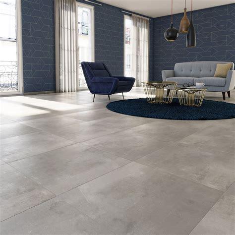 carrelage gris clair brillant carrelage sol et mur gris clair effet bton satinon l x l cm leroy merlin with carrelage gris