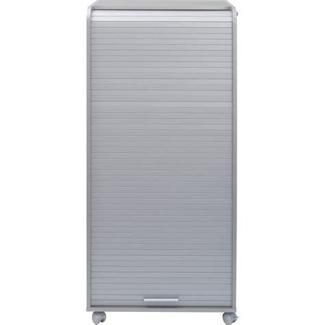 armoire de bureaux armoire informatique mobile 2 tiroirs coloris alu beaux
