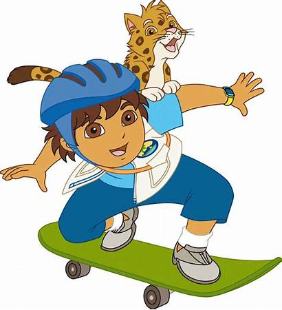 Diego Cartoon Dora Explorer Characters Clipart Clip