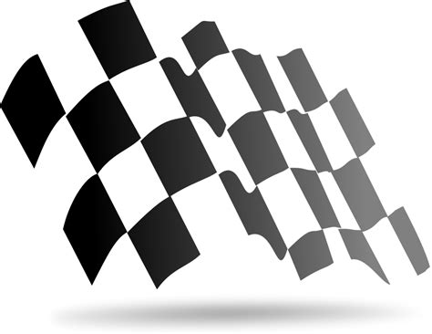 Free vector icons in svg, psd, png, eps and icon font. Checkered Flag Vector - ClipArt Best
