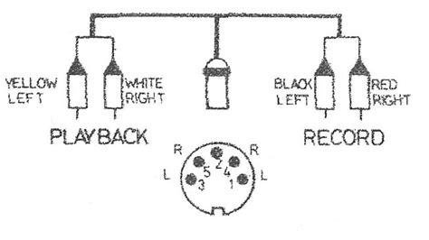 beogram 8002 din to rca wiring scheme