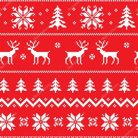 Christmas sweater svg, ugly christmas sweater svg, sweater pattern svgs, dxf, png, jpg, texture, decal. Seamless pattern with classical sweater design — Stock ...