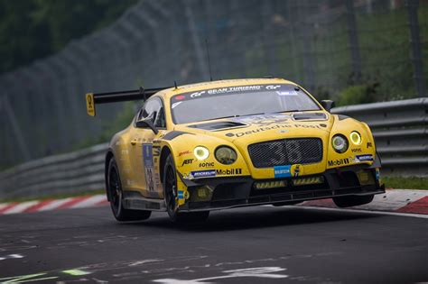 bentley continental   attack nuerburgring