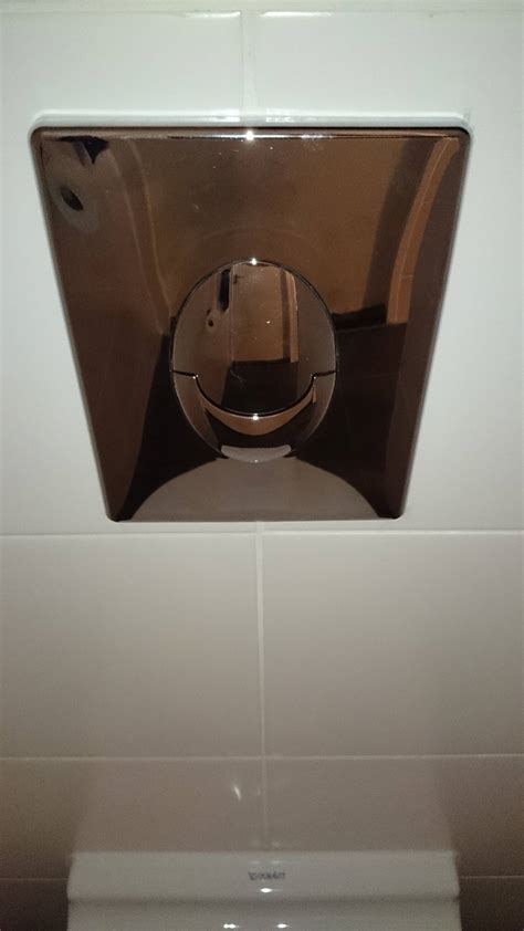 toilet stuck on flush water how can i fix a wall mounted toilet that keeps