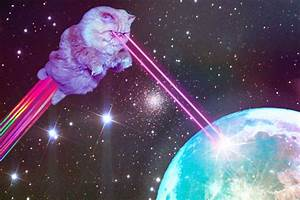 Galaxy Space Cat - Pics about space