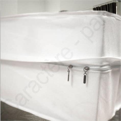 housse de protection matelas 160x200 renov matelas r 233 novateur de matelas avec fermeture 233 clair housse de matelas pour punaise et