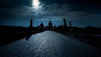 Bing Bridge Charles Night Czech Republic Prague