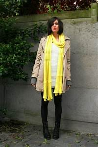 White Dresses Yellow Scarves Beige Coats Black Boots Gray Cardigans | u0026quot;Bad luck wind been ...
