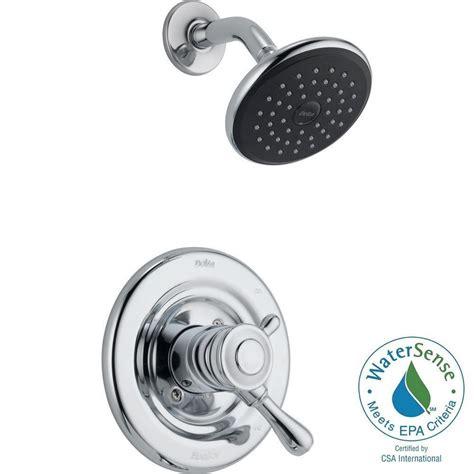 delta leland 1 handle shower only faucet trim kit in