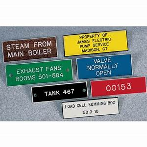 custom plastic equipment nameplates custom nameplates With electrical panel nameplates