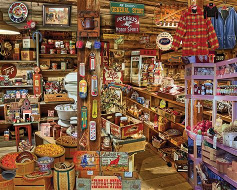 Country Store - 1000pc Jigsaw Puzzle by White Mountain ...