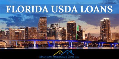 florida usda loan program requirements  guidelines