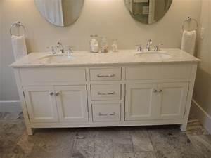 White Vanity Atelier Meuble Rustique