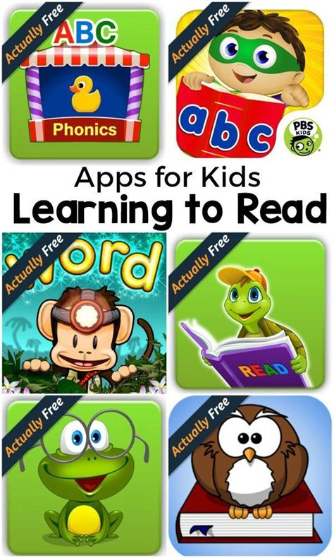 Free Learning by 8 Apps For Learning To Read That Are Actually Free