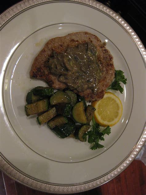 veal scallopini  mushroom cream sauce keeprecipes