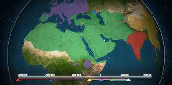 map shows how religion spread around the world business insider