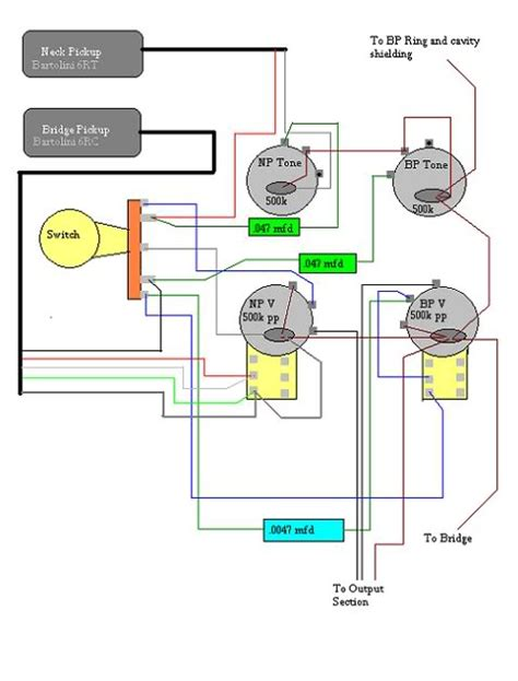 Rickenbacker Bas Wiring Diagram by Rickenbacker 4003 Custom Wiring Talkbass