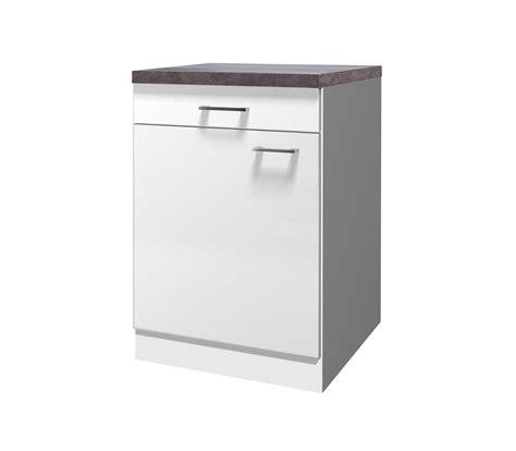 Küchen Unterschrank Schmal by K 252 Chen Unterschrank Lucca 1 T 252 Rig 60 Cm Breit Wei 223