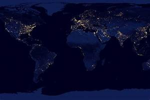 NASA-NOAA : the Earth at Night - The Octopian