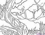 Leech sketch template