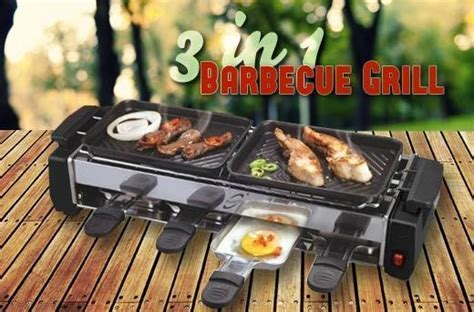 57% off 3 in 1 Smokeless Electric BBQ Grill Promo