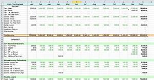 Excel Cash Flow Template  U2014 Excelxo Com